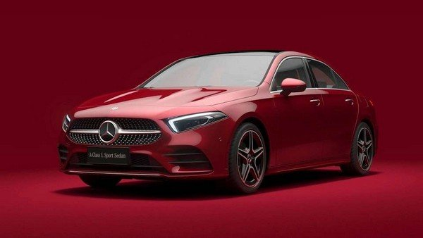 Mercedes-Benz A-Class Sedan L 2019 angular front