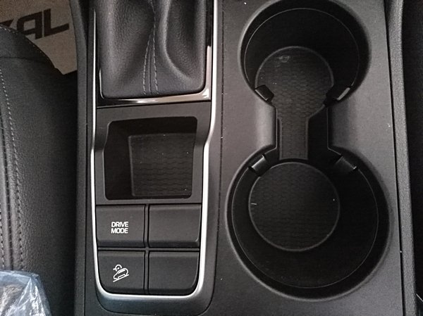 Front console on the 2018 hyundai tucson GLS