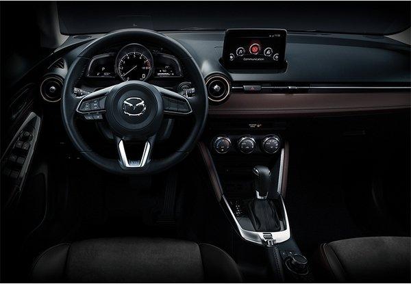 Mazda 2 2018 dashboard