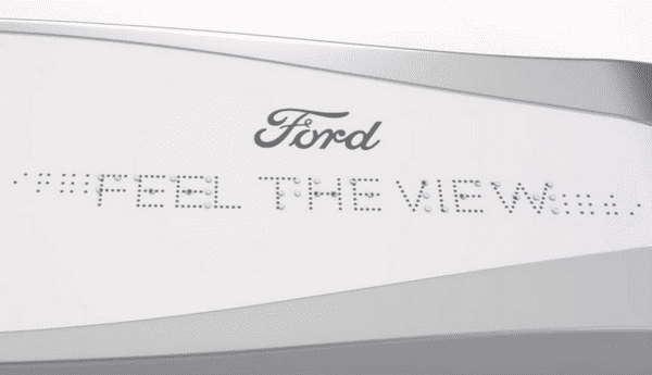 Ford's Feel the View system
