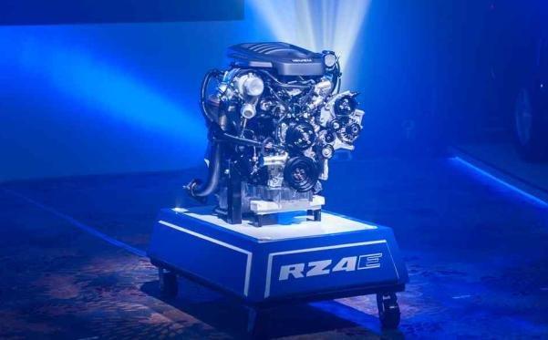 RZ4E turbo diesel engine