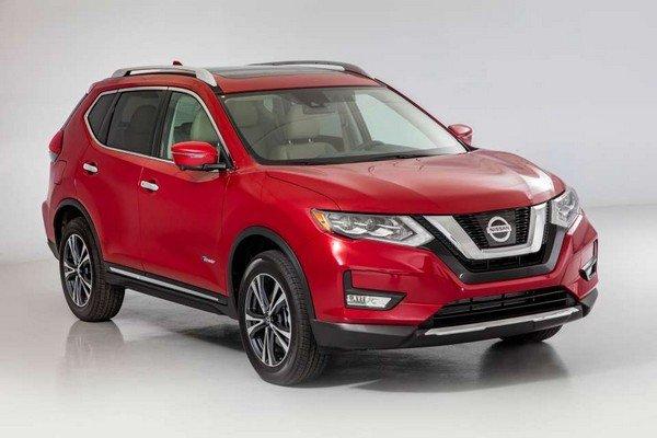 Nissan X-Trail 2018 hybrid angular front