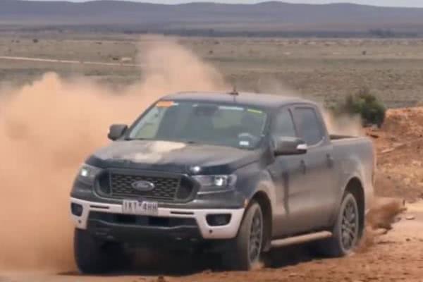 2019 Ford Ranger testing