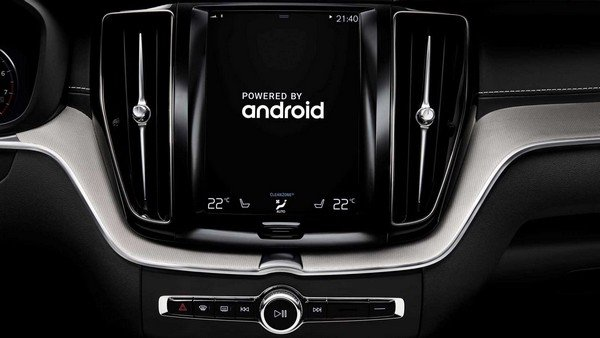 Volvo Android-based infotainment system