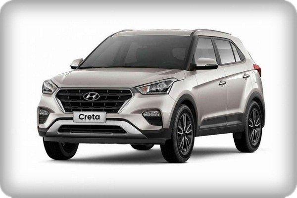 Hyundai Creta 2018 facelift angular front
