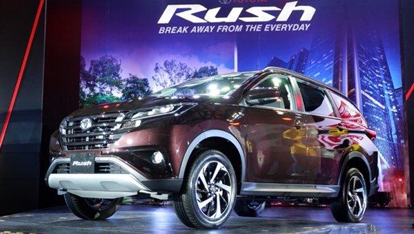 Toyota Rush 2018 angular front