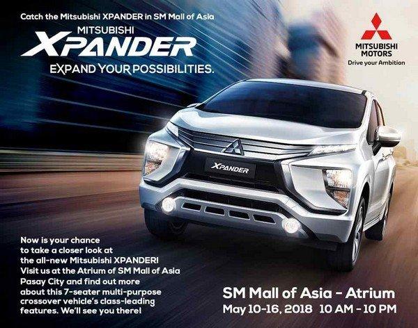 Mitsubishi Xpander 2018 event poster