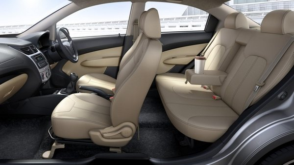 Chevrolet Sail 2018 seating