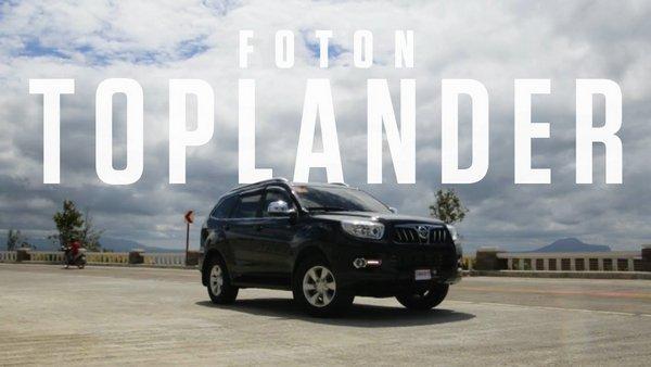 Foton Toplander 2018 angular front