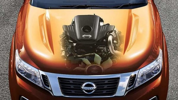 Nissan Navara 2018 under the hood