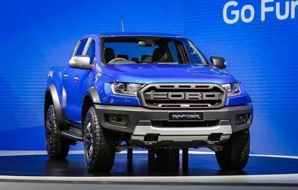 Ford Ranger Raptor 2018 front view