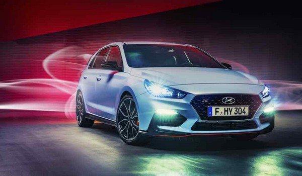 Hyundai Kona N 2019/2020 angular front