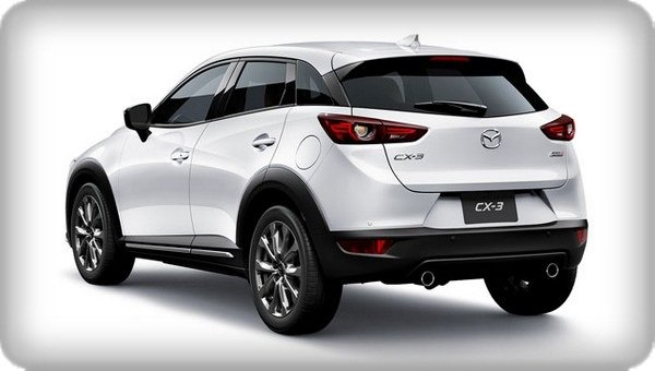 Mazda CX-3 2018 angular rear