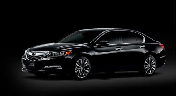 Honda Legend angular front