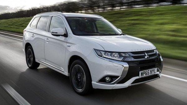Mitsubishi Outlander PHEV on the road