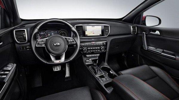 Kia Sportage 2018 facelift interior