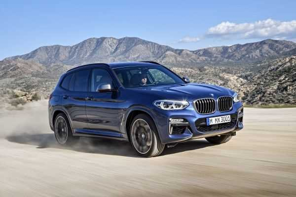 BMW X3 on the road