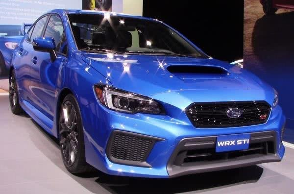 The Subaru Wrx Sti Gains More With Turbocharged 2 5l Boxer Transmission Doling Out 310 Hp