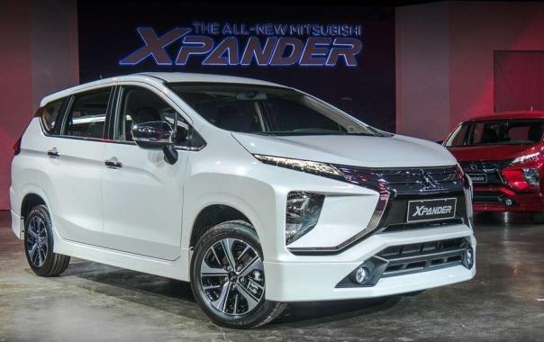 Mitsubishi Xpander 2018 angular front
