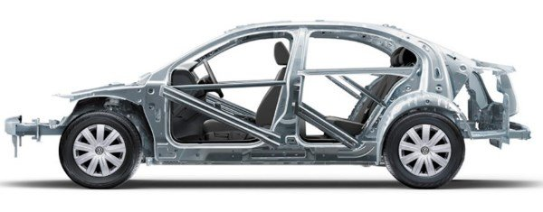 Volkswagen Santana 2018 safety cage