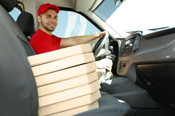 delivery food using your car