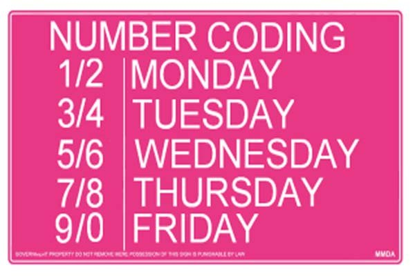 Number Coding Scheme in the PH