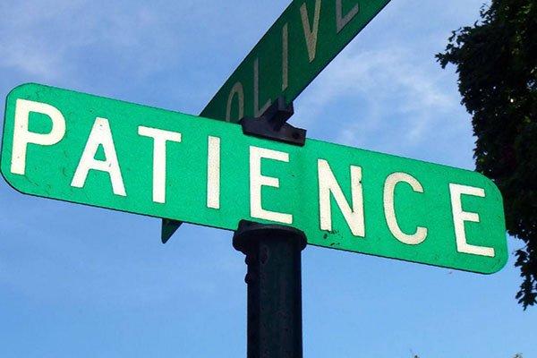 Patient signboard