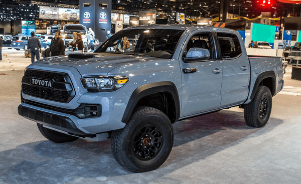 angular front of the Toyota Tacoma TRD