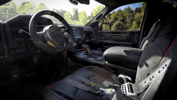 interior of the Ram Rebel TRX concept