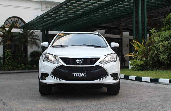 BYD Tang 2018 front view