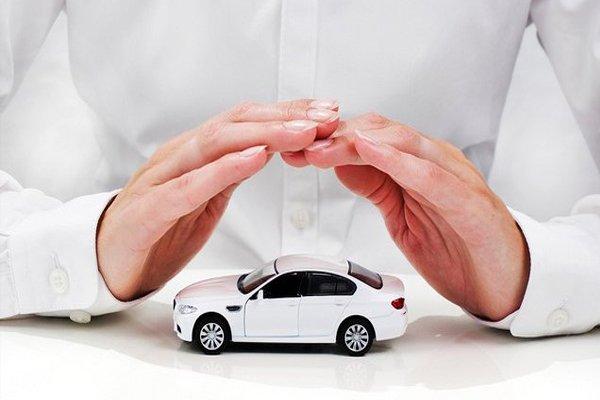 a car under hands