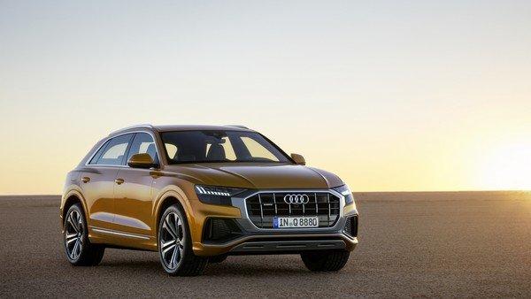 Audi Q8 2019 angular front
