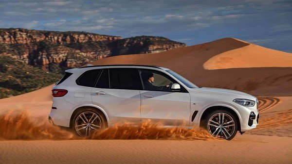 BMW X5 2019 on the road
