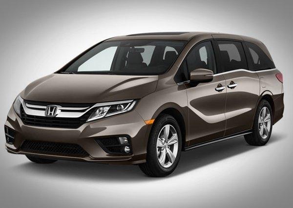 Honda Odyssey angular front