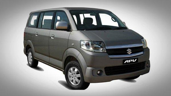 Suzuki APV angular front