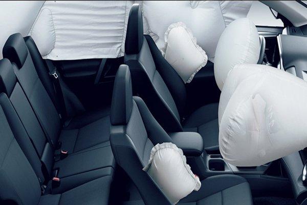 Toyota RAV4 2018 airbags