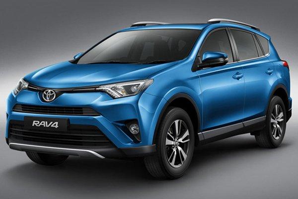 Toyota RAV4 2018 angular front