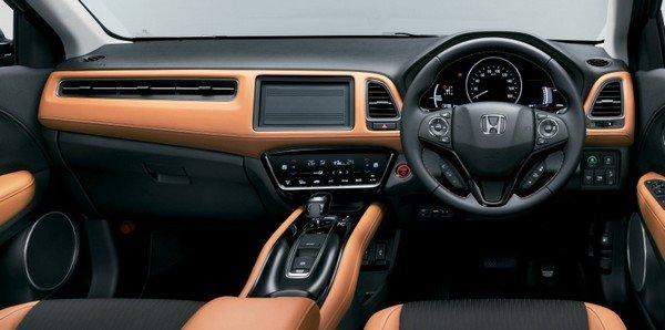 Honda HR-V 2018 facelift dashboard area