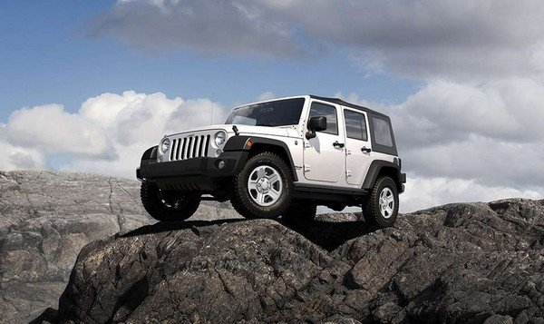 Jeep Wrangler Unlimited Sport 2018 angular front