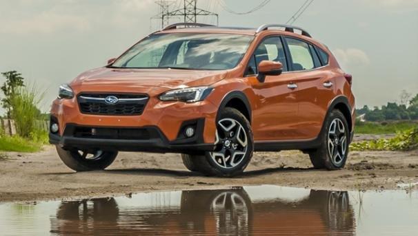 A Subaru car front view