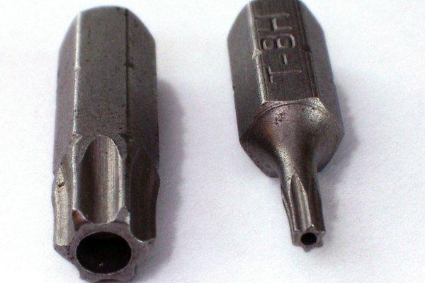 Torx screw bits