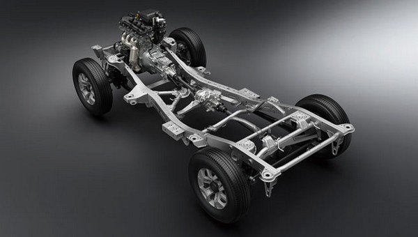 Suzuki Jimny 2019 ladder frame