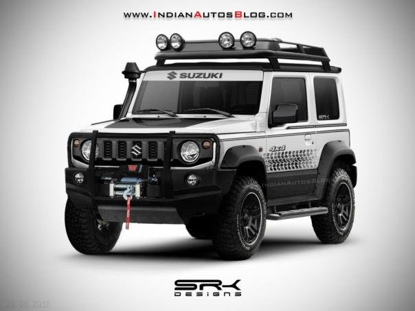 Suzuki Jimny 2019 rendering photo