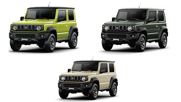 New off-road spec Suzuki Jimny 2019 rendering surfaced ...
