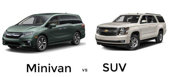 Minivan vs SUV
