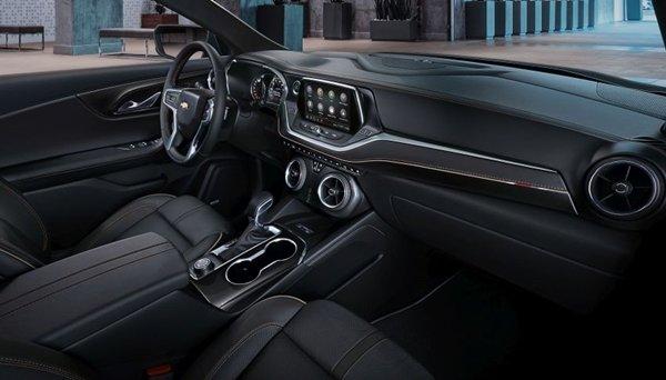 Chevrolet Blazẻ 2019 interior