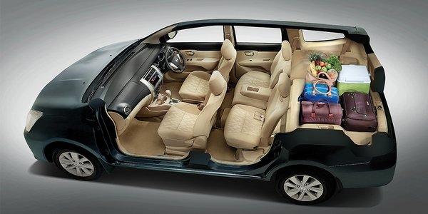 Nissan Grand Livina 2019 interior