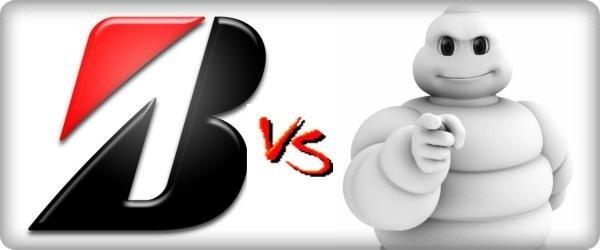 Bridgestone vs. Michelin