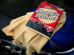 chamois used in car wash