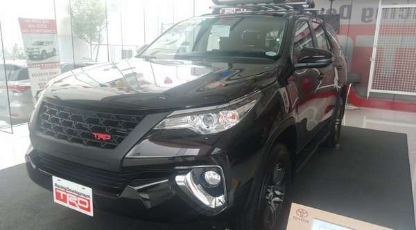 2018 Toyota Fortuner Philippines TRD